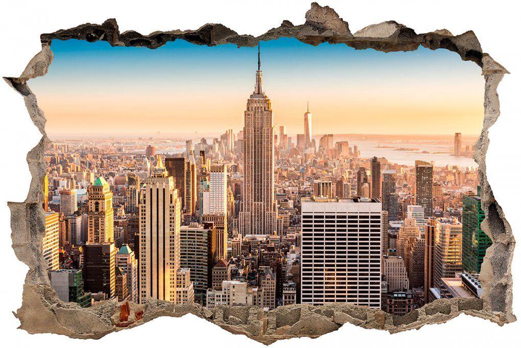 Wandtattoo New York City  Die Schönsten Einrichtungsideen von Wandtattoo New York City Photo