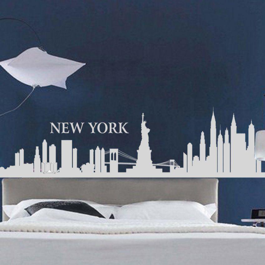Wandtattoo New York City Nyc Skyline Stadtbild Travel Vacation Ziel von Wandtattoo New York City Photo