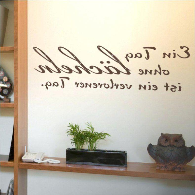 spr che f r die wand selbst gestalten haus design ideen. Black Bedroom Furniture Sets. Home Design Ideas
