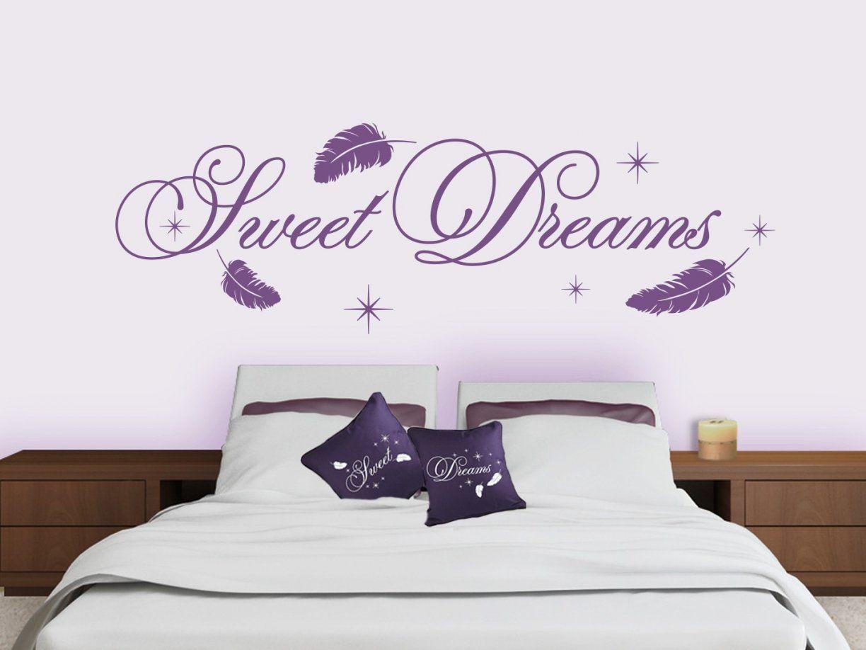 Wandtattoo Sweet Dreams Wandtattoos Schlafzimmer Traumhafte Motive ...