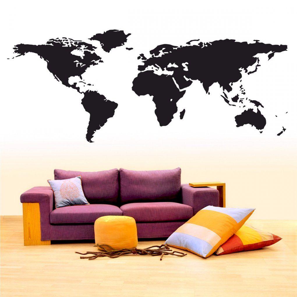 Wandtattoo Weltkarte Günstig World Map Wall Sticker Wand Aufkleber von Aufkleber Für Die Wand Bild