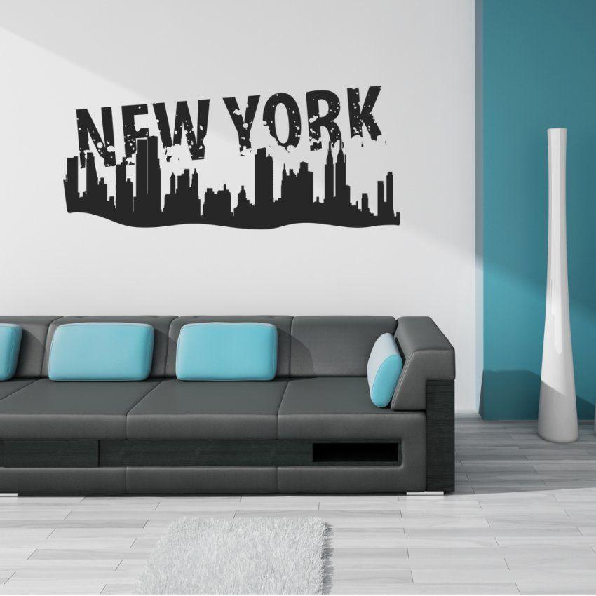 Wandtattoos Folies  Usa von Wandtattoo New York City Photo