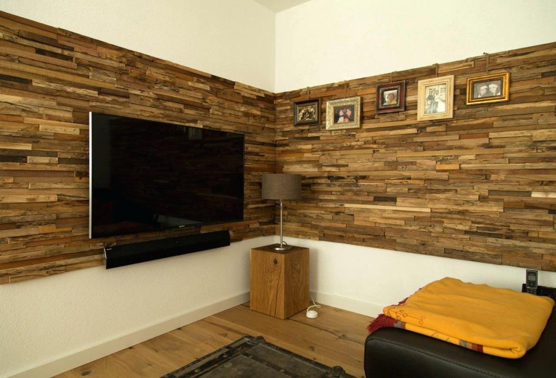 Wandverkleidung Holz Wandverkleidung Holz Tv Lesebereich von Wandverkleidung Holz Innen Rustikal Photo