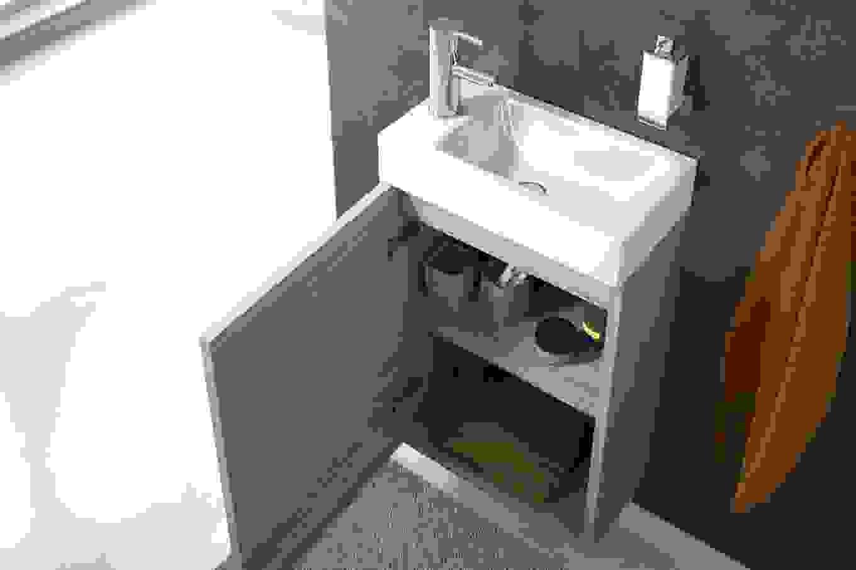 Waschbecken 30 Tief Gp89 Hitoiro Mit Unterschrank 65 Cm Breit Von von Waschbecken 30 Cm Tief Bild