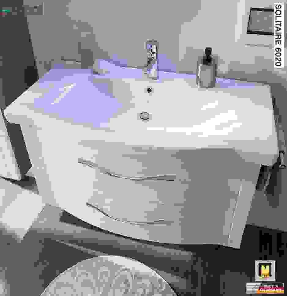 Waschbecken 80 Cm Cheap Posseik Waschtisch Rima Cm Breit Von von Waschtisch 80 Cm Breit Bild