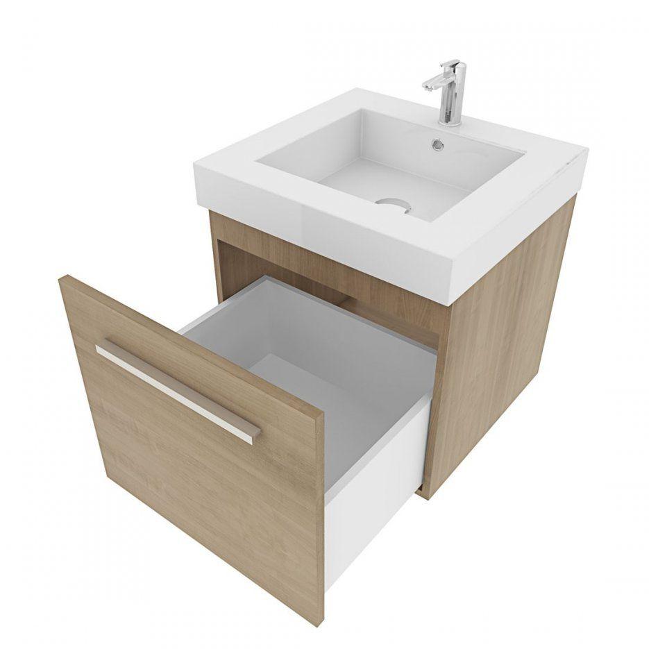 Waschbecken Mit Unterschrank 50 Cm Breit Waschtisch Mit Waschbecken von Bad Unterschrank 50 Cm Breit Bild