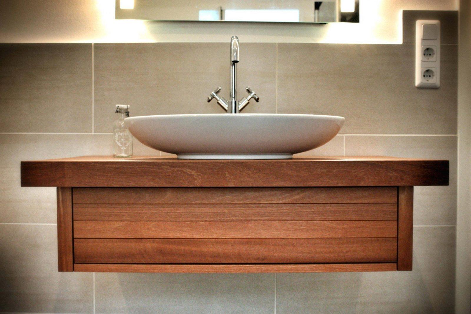 Waschbecken Unterschrank Selber Machen Lovely von Waschbeckenunterschrank Holz Selber Bauen Bild