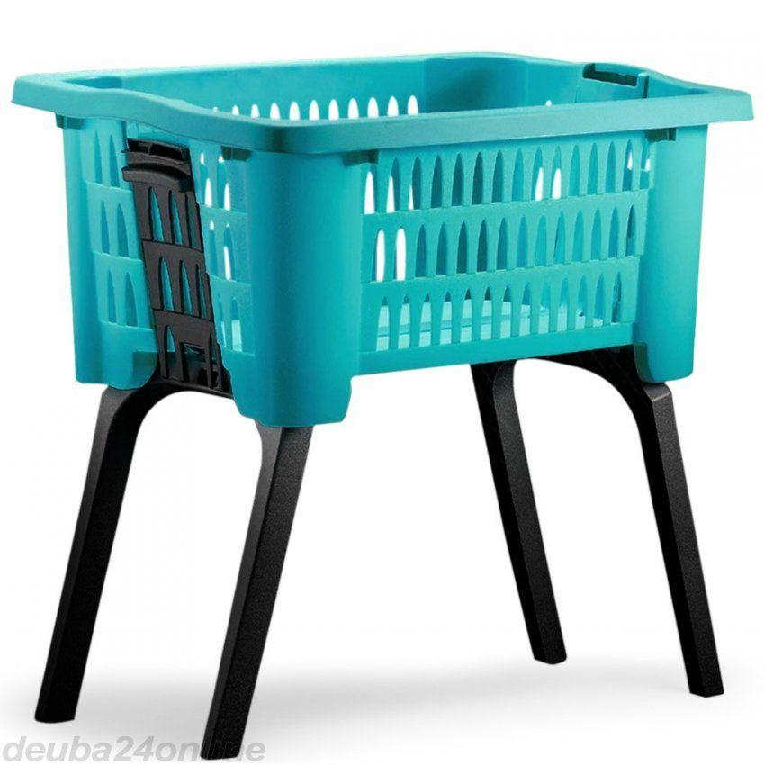 Wäschekorb Mit Ausklappbaren Beinen Blau   Zum Onlineshop von Wäschekorb Mit Ausklappbaren Beinen Photo