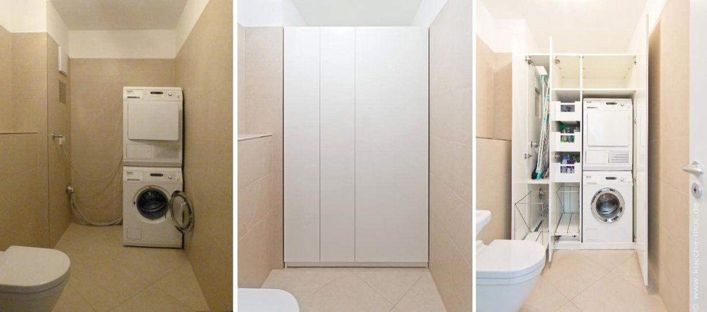 Waschmaschine Und Trockner Übereinander Mit Schrank Für von Schrank Für Waschmaschine Und Trockner Übereinander Ikea Bild