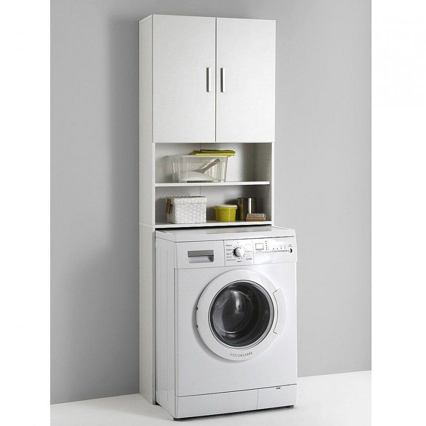 Waschmaschinenschrank Sorgt Für Mehr Platz Und Ordnung  Ordnung von Schrank Für Waschmaschine Und Trockner Ikea Bild
