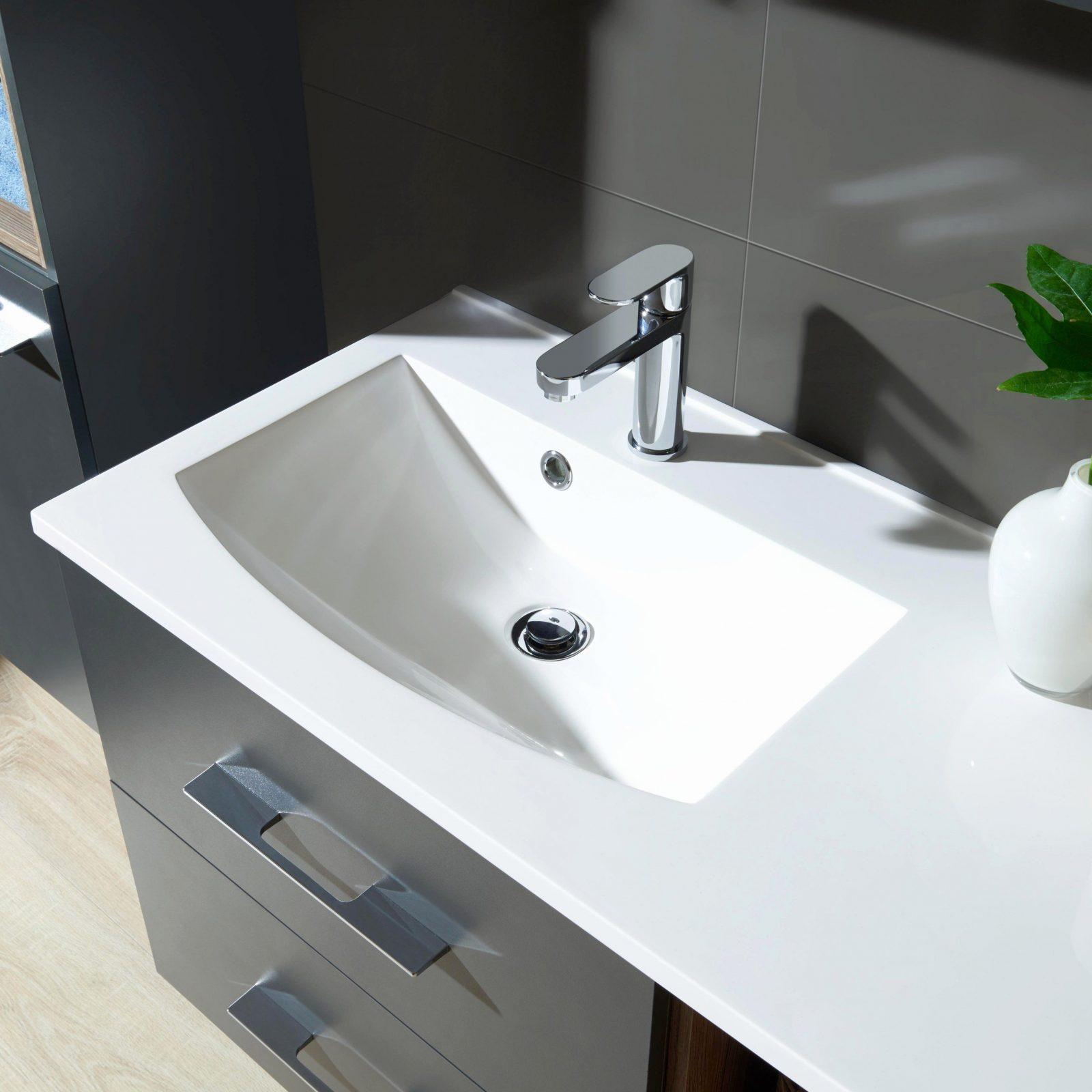 Waschtisch 40 Cm Tief Mit Unterschrank Waschbecken 40 Cm: Waschbecken 40 Cm Breit Simple Camargue Star Waschtisch X