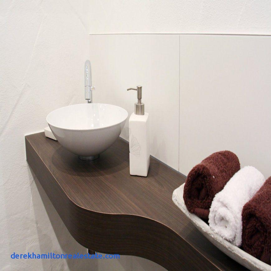 Waschtisch Braun Holz Mit Waschbecken Schale Mit Unterschrank von Waschtisch Schale Mit Unterschrank Bild