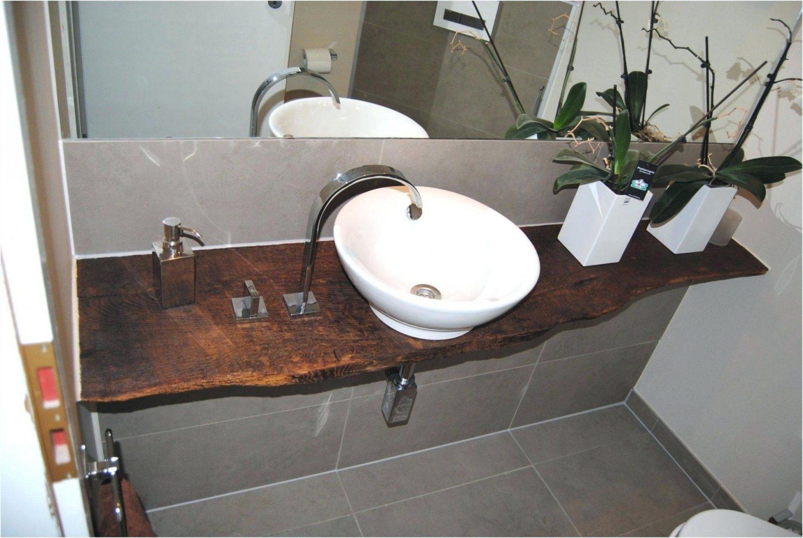 Waschtisch Holz Architektur Landhausstil Massivholz Rustikal First von Waschtisch Holz Mit Aufsatzwaschbecken Photo
