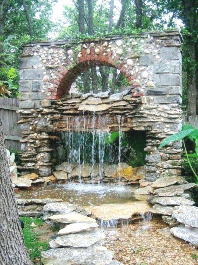 Teich Mit Wasserfall Selber Bauen Haus Design Ideen