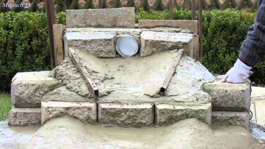 Wasserfall In Meinem Garten Bauenvideo 2  Garten Und Gartenteich von Wasserfall Garten Bauen Anleitung Bild