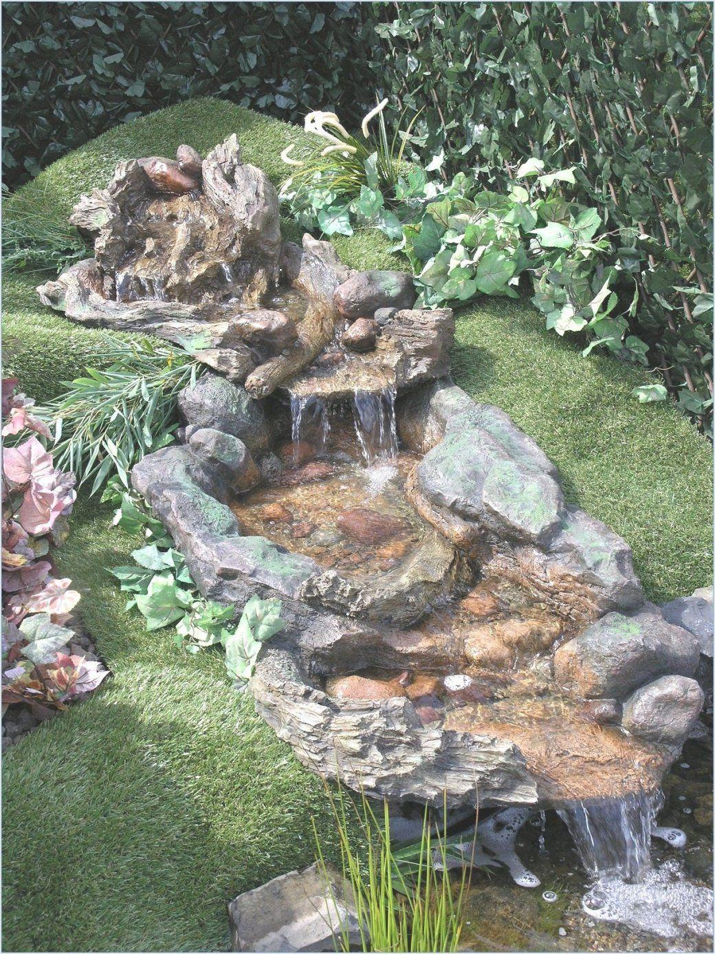 Wasserlauf Garten Anlegen Attraktiv Ungewöhnlich Wasserfall Selber von Wasserfall Garten Bauen Anleitung Photo