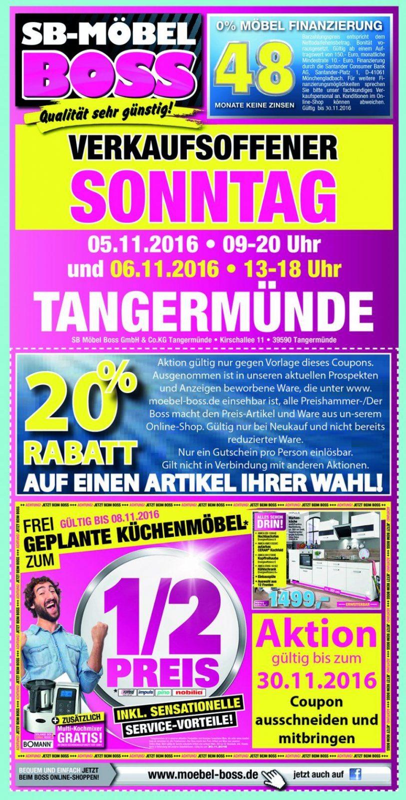 Web Möbel Boss Hanse Park November 2016  Stendalmagazin von Möbel Boss Verkaufsoffener Sonntag Bild
