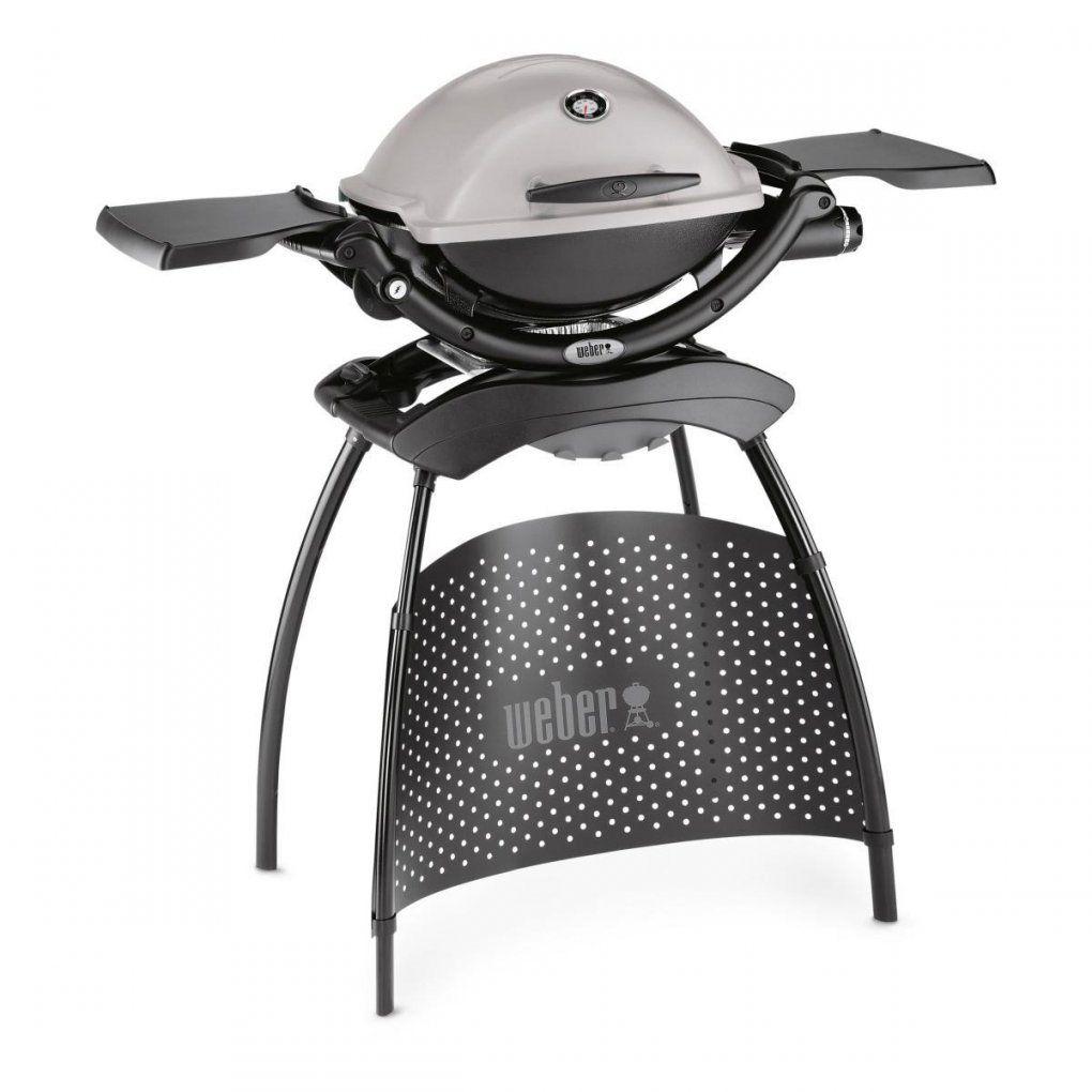 Weber Q 1200 Stand Granite Grey (51120379)  Grill&co von Weber Q 2200 Stand Granite Grey Bild