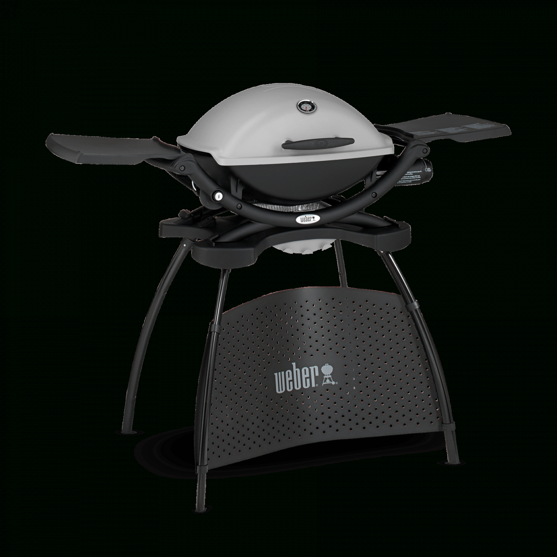 Weber® Q 2200 – Gasgrill Mit Stand  Q Serie  Gasgrills von Weber Q 2200 Stand Granite Grey Bild