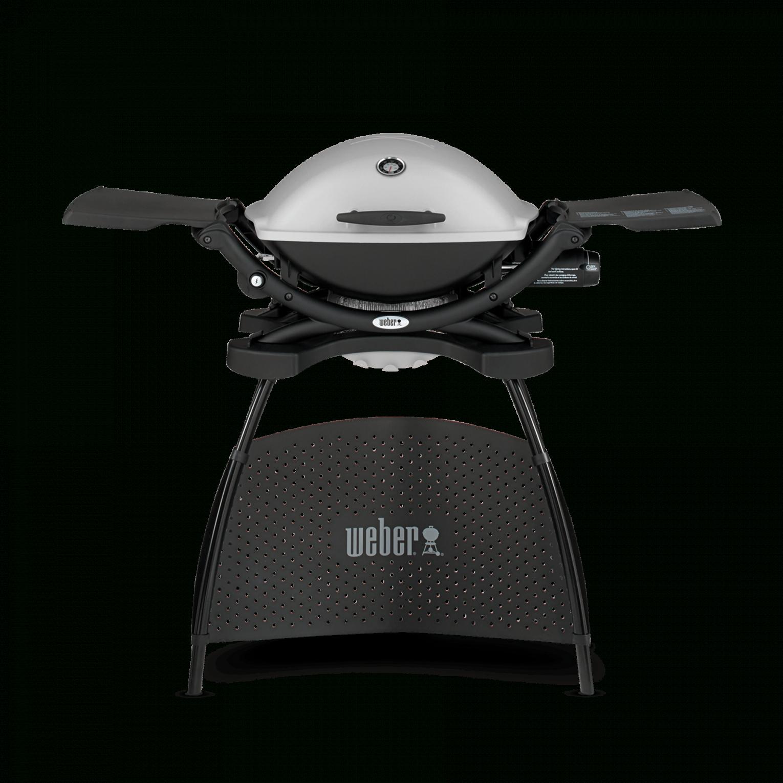 Weber® Q 2200 – Gasgrill Mit Stand  Q Serie  Gasgrills von Weber Q 2200 Stand Granite Grey Photo