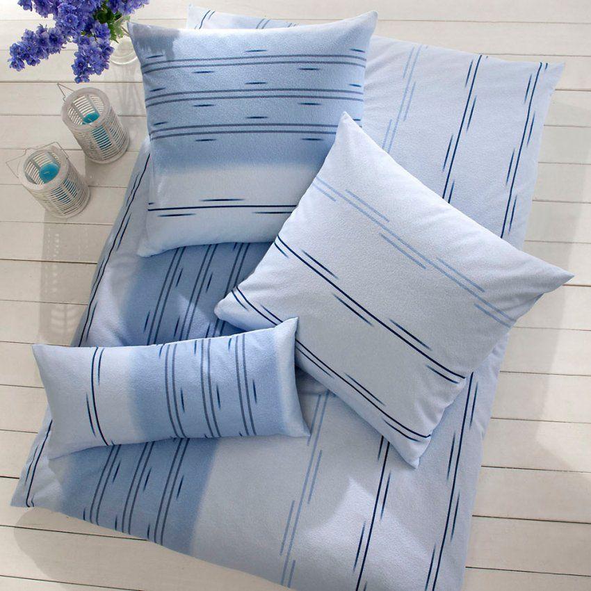 Weichfrottierbettwäsche Eiko Blau  Weichfrottier Bettwäsche von Weichfrottier Bettwäsche 155X220 Bild