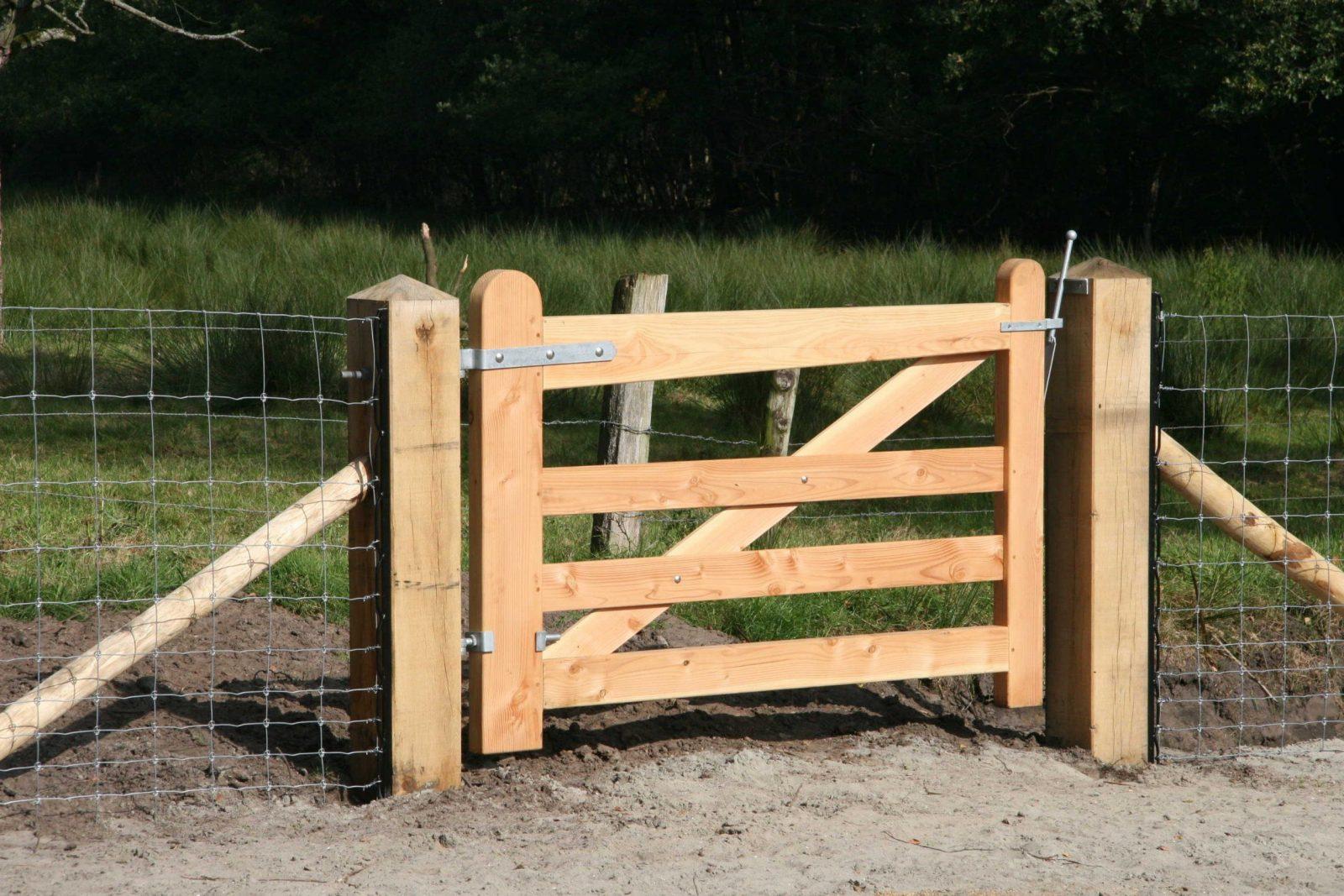Weidetor Holz – Douglasie Im Holland Stil  Günstig Kaufen Adéquat von Gartentor Holz Nach Maß Photo