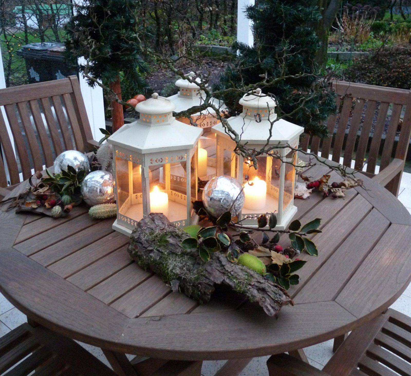 Weihnachtsdeko Außen  Wohnen Und Garten Foto  Deko Inspiration Zum von Weihnachtsdeko Für Draussen Selber Basteln Bild