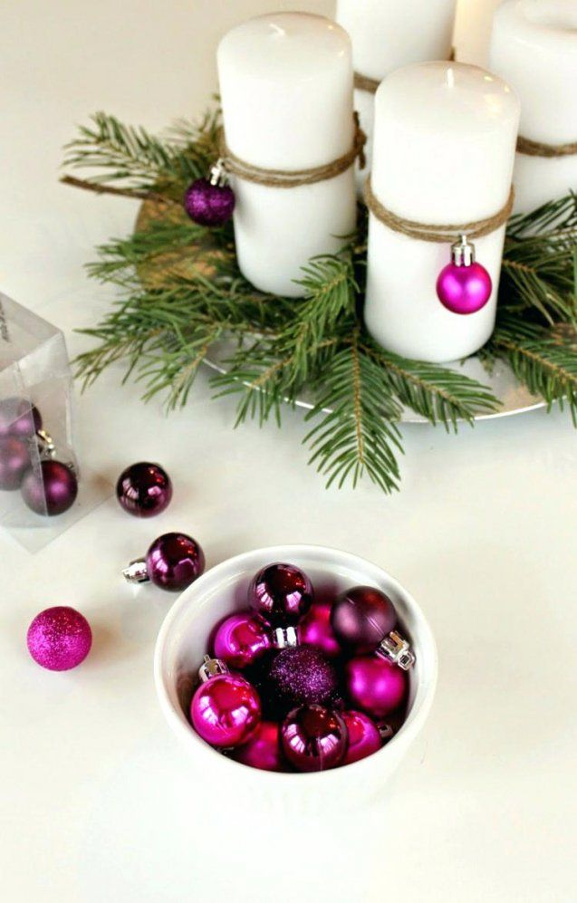 Weihnachtsdeko Tischdeko Tischdekoration Weihnachten Selber Basteln von Tischdekoration Weihnachten Selber Basteln Bild