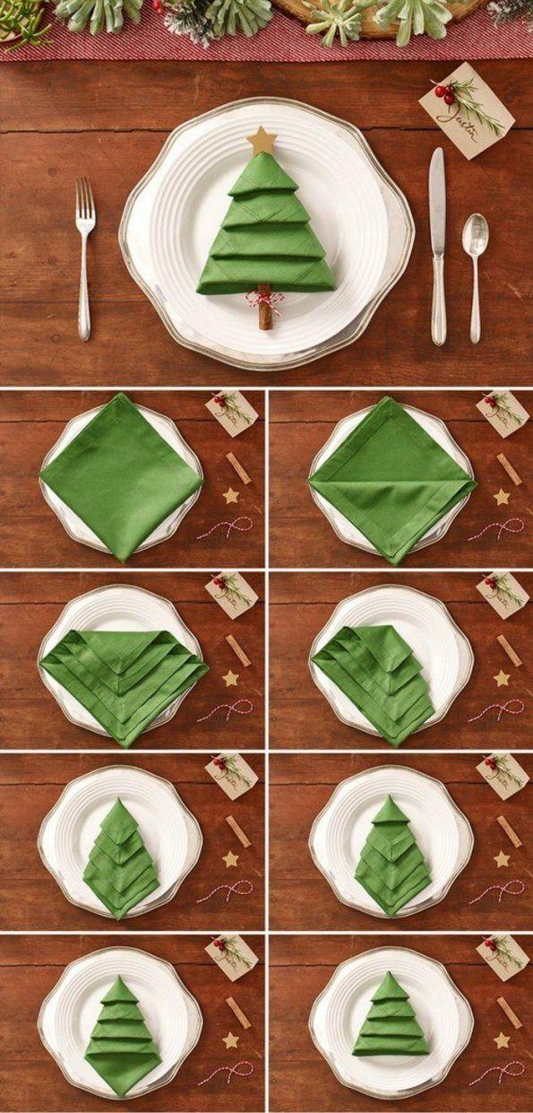 Weihnachtsdekoration selber machen ideen und vorschl ge von tischdeko weihnachten selber basteln - Tischdeko weihnachten basteln selber machen ...
