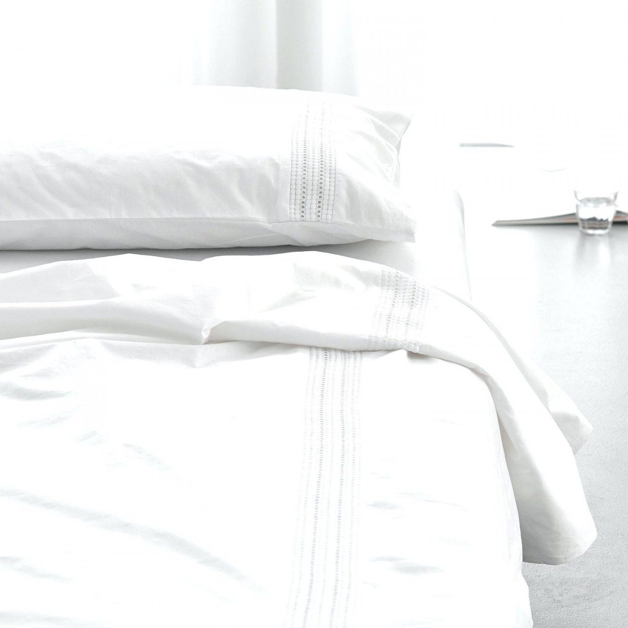 Weisse Bettwasche Intelligente Ideen Weia Spitze Und Schane Mit Haus von Weiße Bettwäsche Mit Spitze Bild