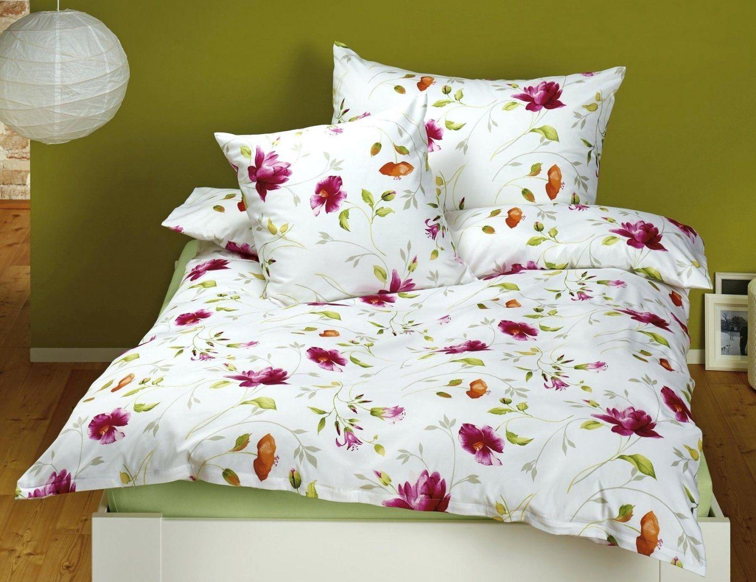 Weisse Bettwasche Weiss Mit Blumenmuster Bettwaesche Baumwolle 155