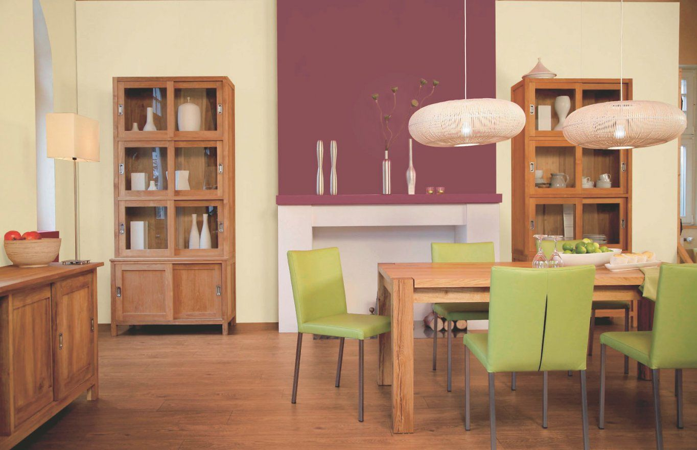 ... Welche Wandfarbe Zu Welchem Holzfarben Passt Alpina Farbe U0026amp;  Einrichten Von Wandfarbe Wohnzimmer Dunkle Möbel ...