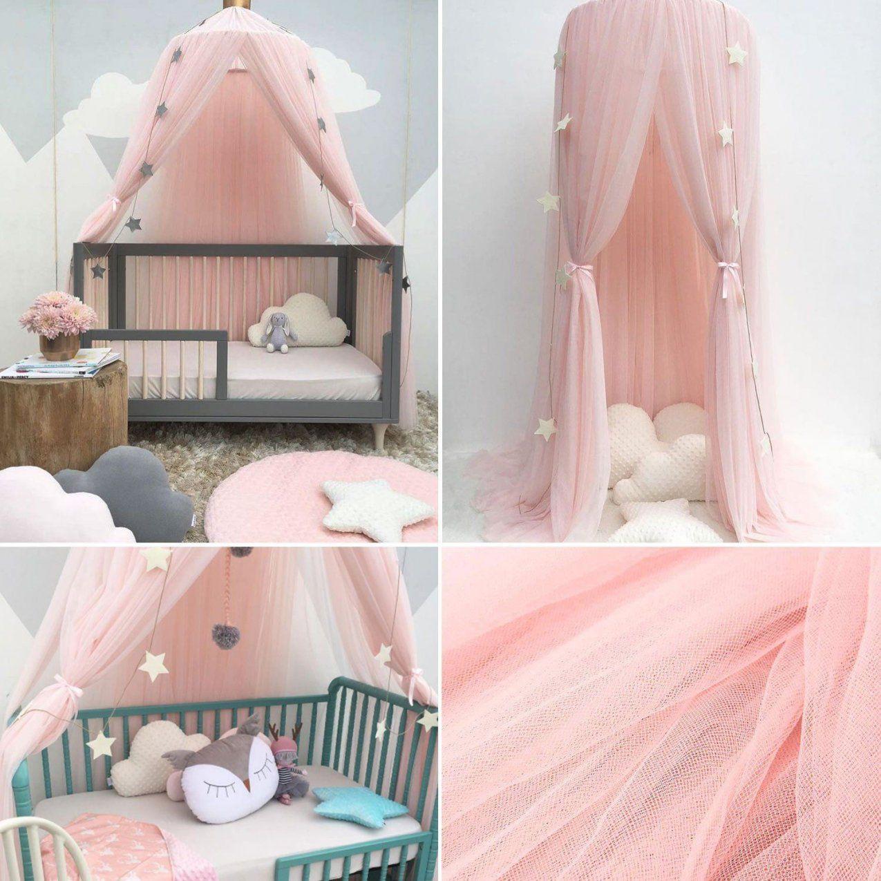 Werbung  Baldachin Kinderzimmer Betthimmel Moskitonetz Kinderbett von Betthimmel Kinderbett Selber Machen Bild