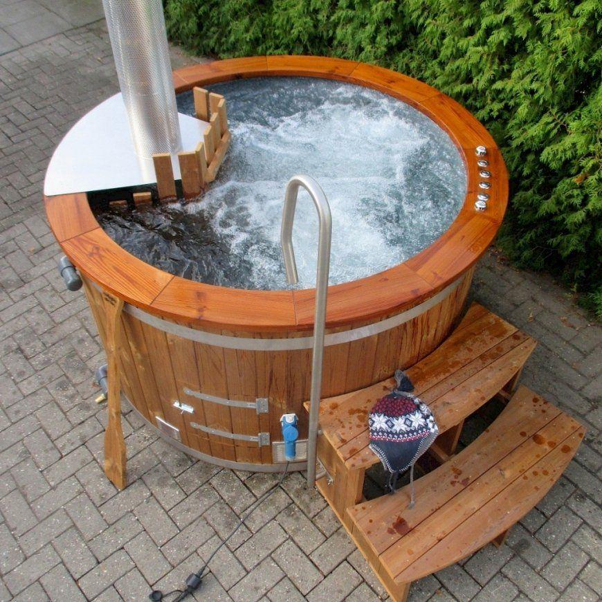 Whirlpool Garten Selber Bauen Schön Einen Sitzpool Jacuzzi Selber von Whirlpool Selber Bauen Holz Photo