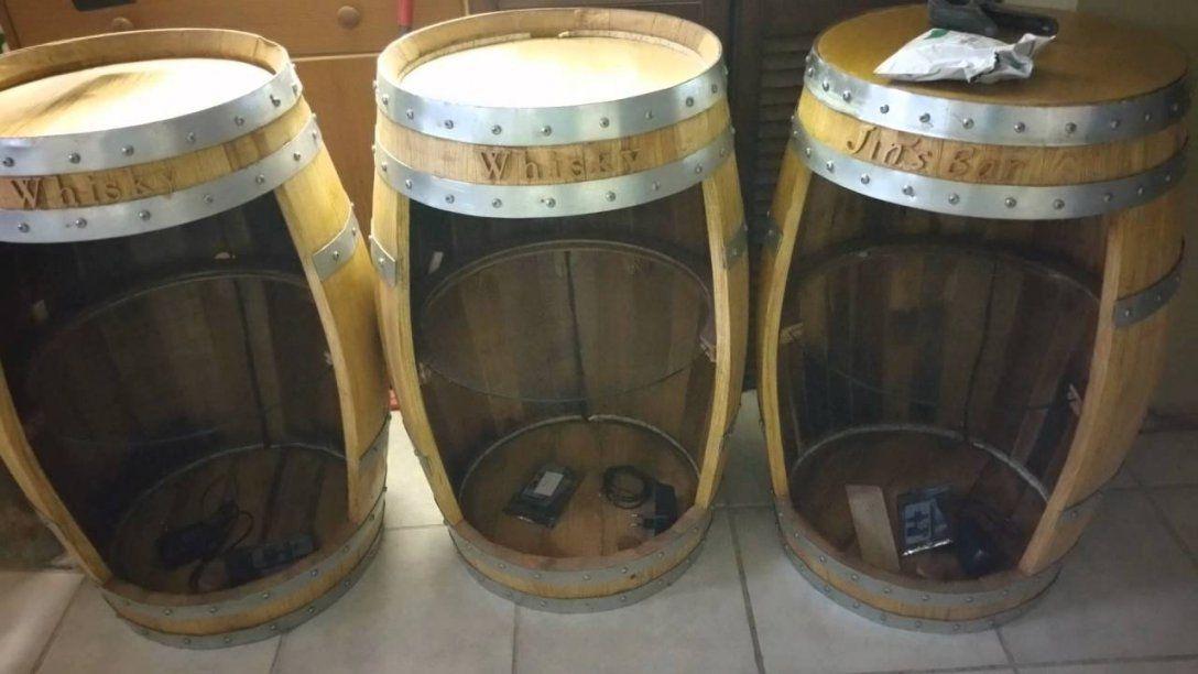 Whisky  Wein  Kaffee  Fassbar  Youtube von Weinfass Bar Selber Bauen Bild