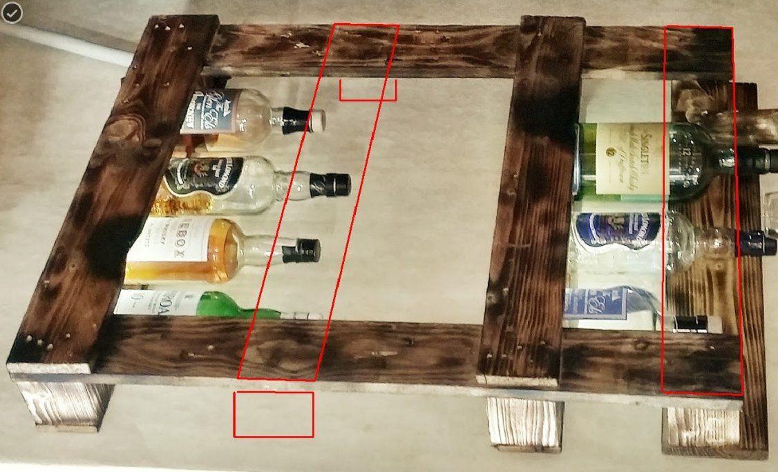 Whiskyregal Selber Bauen Whiskyregal Selber Bauen Avec Europalette von Whisky Regal Selber Bauen Photo