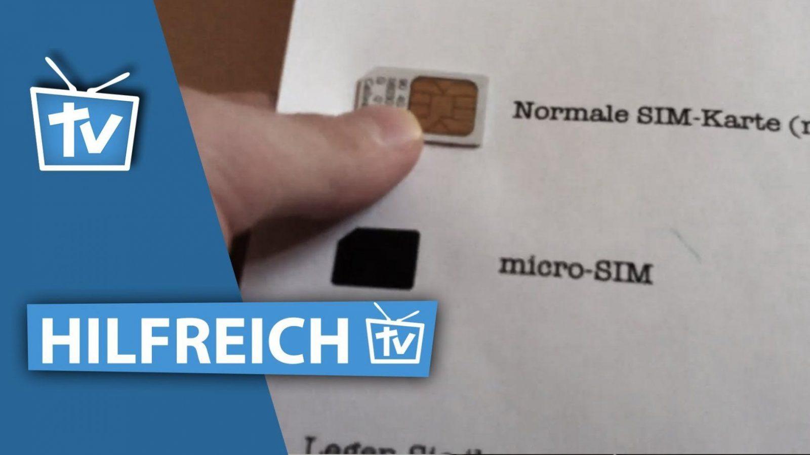 Wie Kann Ich Micro Sim Karte Selber Machen  Micro Sim Karte von Nano Sim Zu Micro Sim Adapter Selber Bauen Bild
