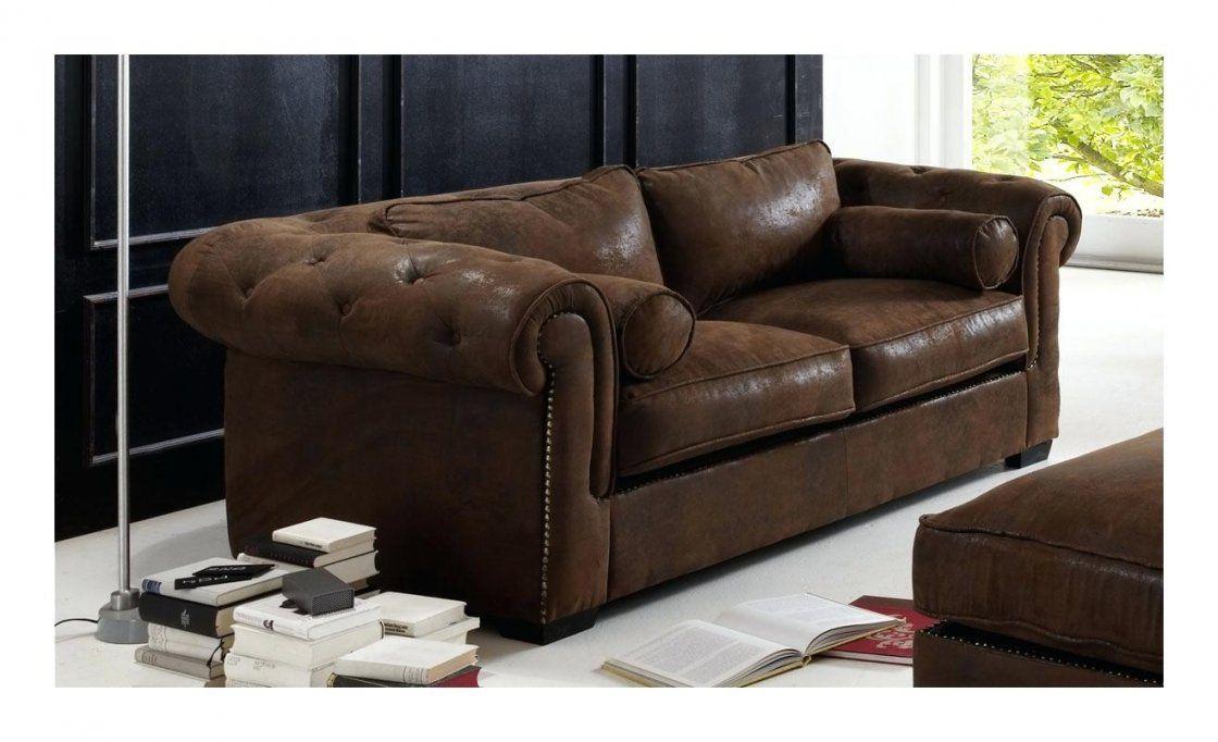 Wildleder Couch Chesterfield Sofa Leder Rot Braun Zweisitzer Retro von Stoff Couch Reinigen Hausmittel Photo