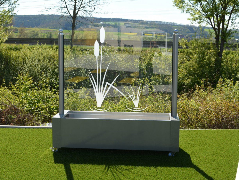 Windschutz Aus Glas Für Garten Und Terrasse von Windschutz Für Terrasse Aus Glas Bild