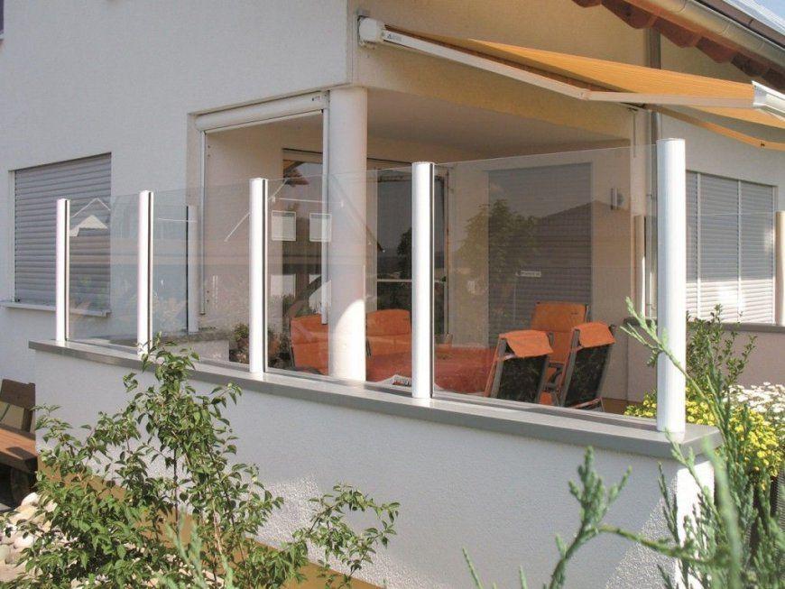 Windschutz Balkon Glas  Nt07 von Windschutz Für Terrasse Aus Glas Photo
