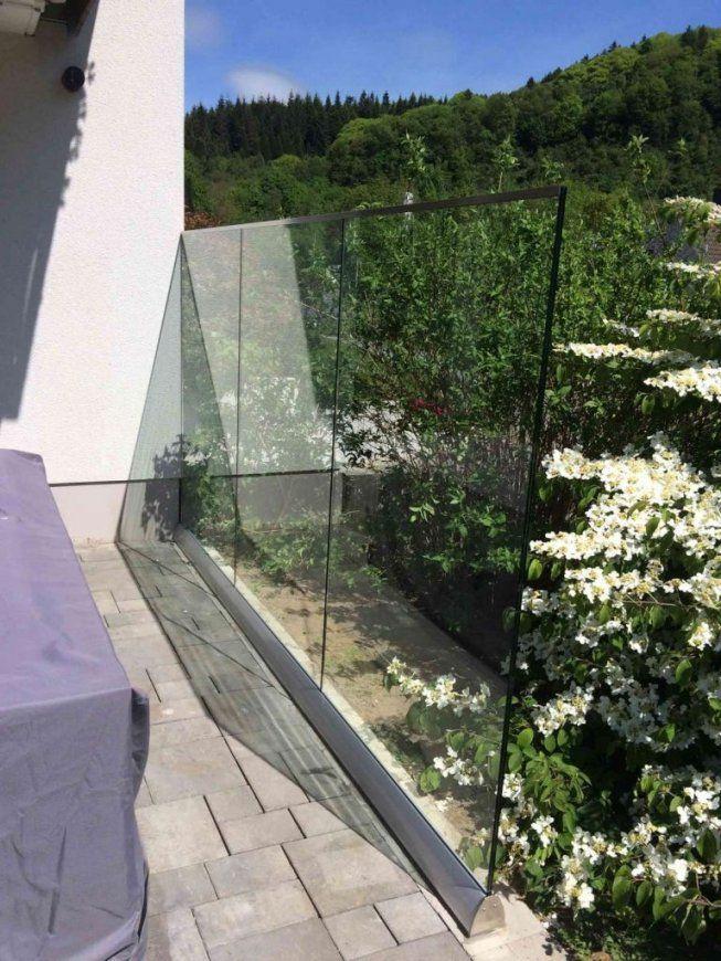 Windschutz Terrasse Glas  Nctrnm von Windschutz Für Terrasse Aus Glas Bild