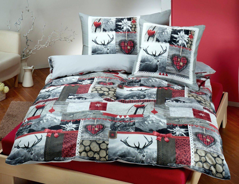 Winterbettwasche Bettwasche Winter Angenehm Auch Mit Motiv Bestellen von Bettwäsche Von Qvc Bild