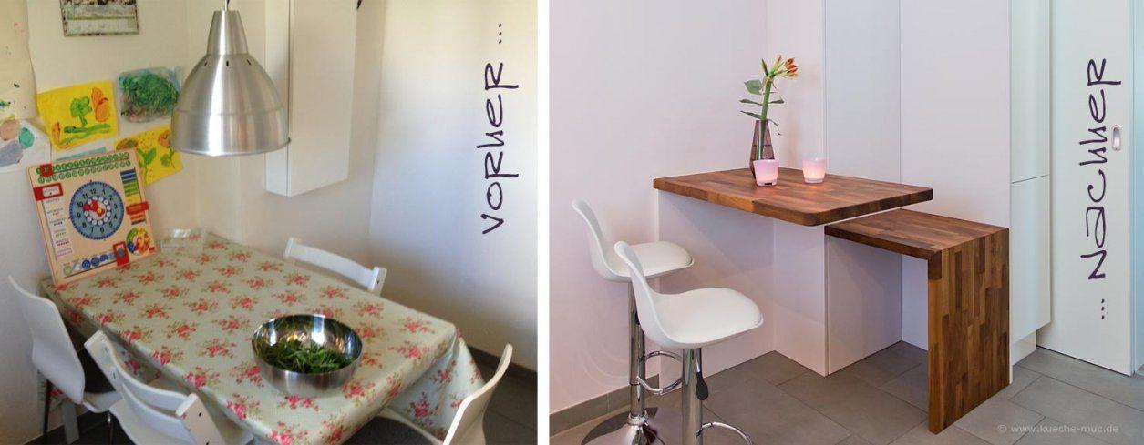 Uberlegen ... Wir Renovieren Ihre Küche Kleine Moderne Kueche Von Tisch Ideen Kleine  Küche Bild ...
