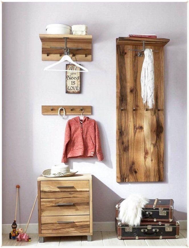 Witzige Garderoben Ideen Mit  Moderne Dekoration von Garderobe Selber Bauen Palette Bild