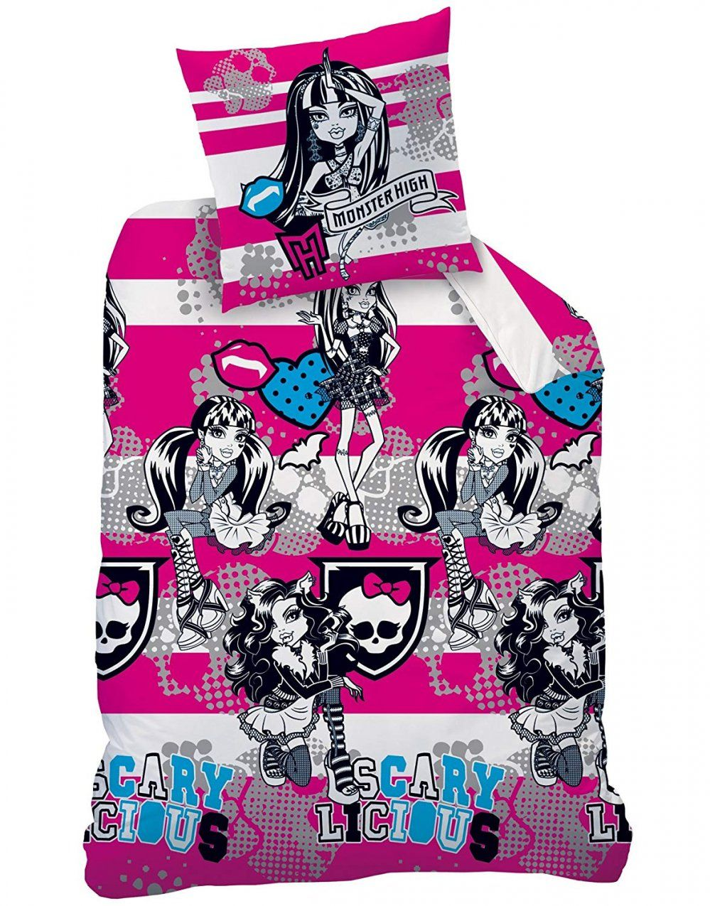 Wo Monster High Bettwaesche Set Zu Kaufen  Dibinekadar Decoration von Monster High Bettwäsche Biber Bild