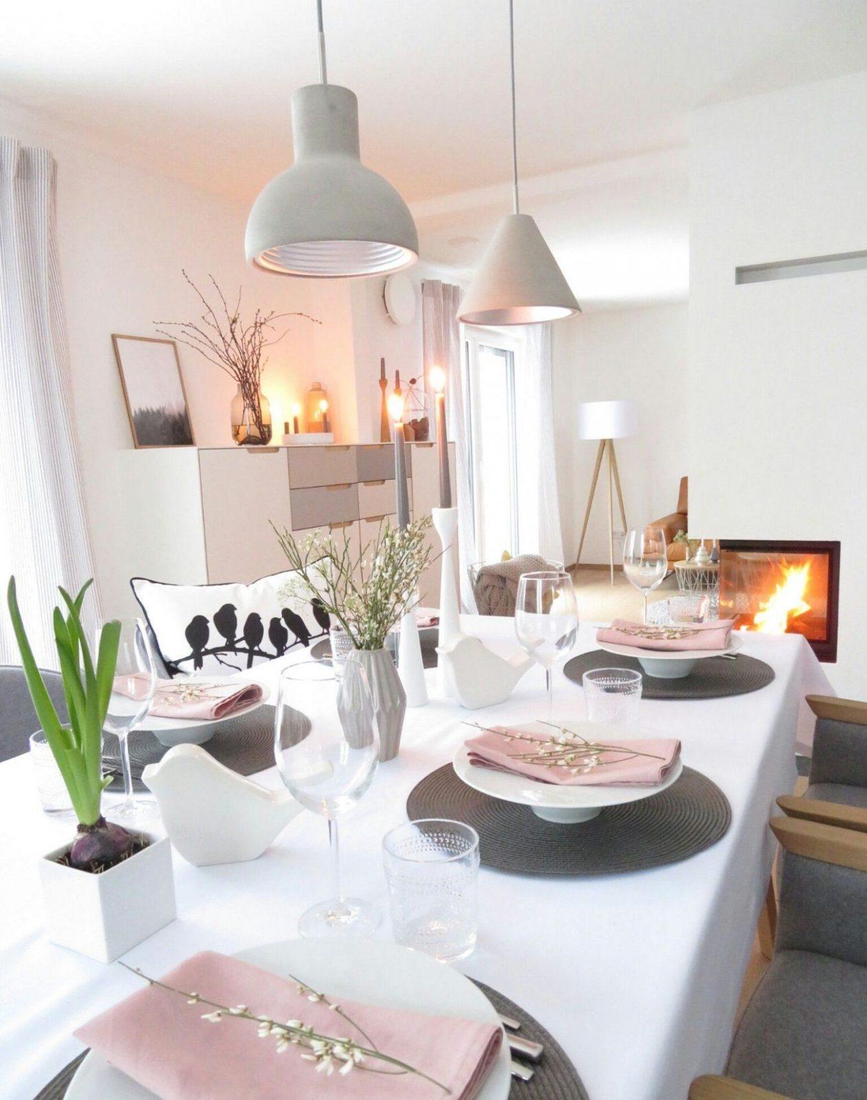 Wochenende  Esstische Deins Und Deko von Schwedischer Landhausstil Einrichten Dekorieren Akzente Setzen Bild