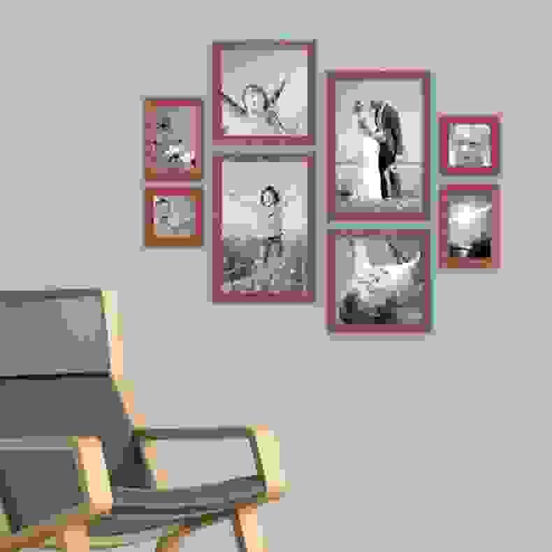Wohndesign Einfach Cool Fotowand Gestalten Wohndesigns Von Fotowand von Bilderwand Gestalten Ohne Rahmen Bild