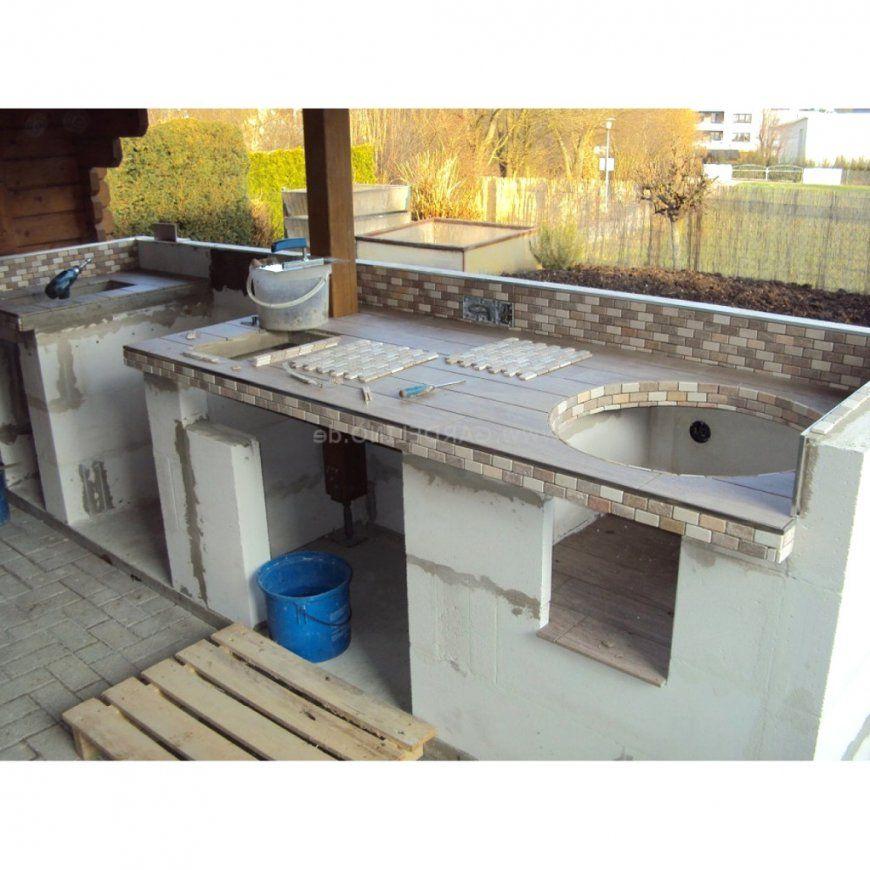 Wohndesign Hervorragend Outdoor Kuche Selber Bauen von Outdoor Küche Selber Bauen Photo