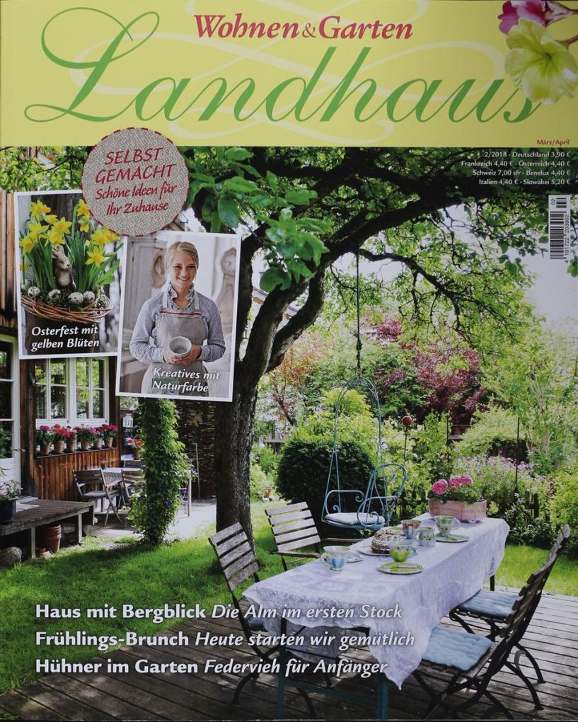 Wohnen & Garten Landhaus 22018  Zeitungen Und Zeitschriften Online von Landhaus Wohnen Und Garten Photo