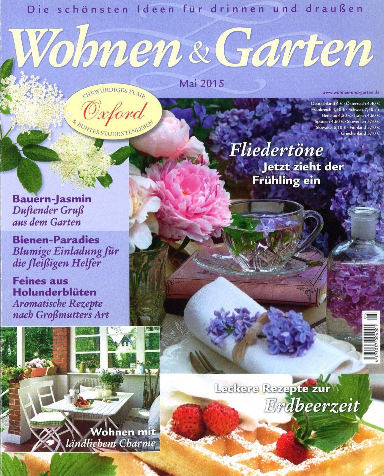 Wohnen Und Garten  Haus & Garten  Zeitschriften Online Bestellen von Landhaus Wohnen Und Garten Bild